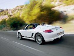 El Porsche Boxster Spyder hace su debut mundial en Los Ángeles
