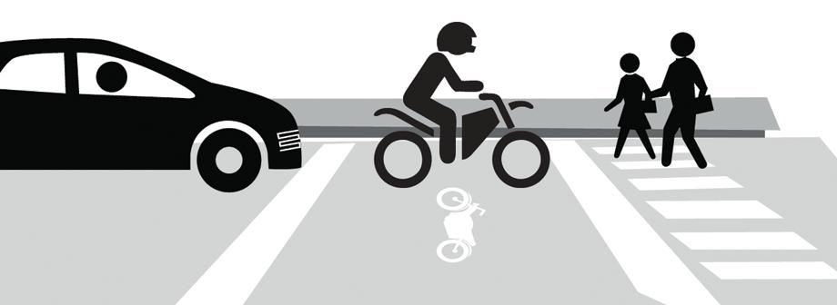 como evitar accidentes en moto